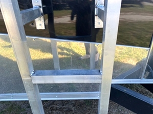 Enclosed Trailer With Ladder Racks