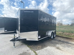 Enclosed Trailer 14ft Enclosed Trailer 14ft. Gatormade black enclosed trailer 7x14