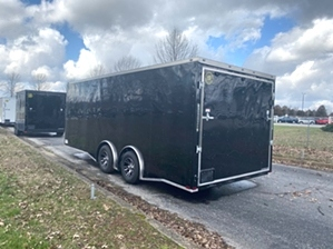Enclosed Trailer Spread Axle