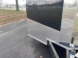 Enclosed Trailer Spread Axle
