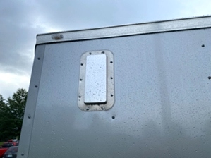 Enclosed Trailer Silver