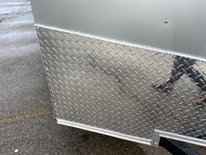 Enclosed Trailer Silver