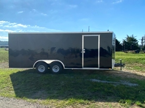 Enclosed Trailer Black