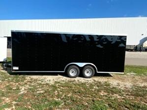 Enclosed Trailer Black Enclosed Trailer Black. Black tandem 24ft enclosed trailer