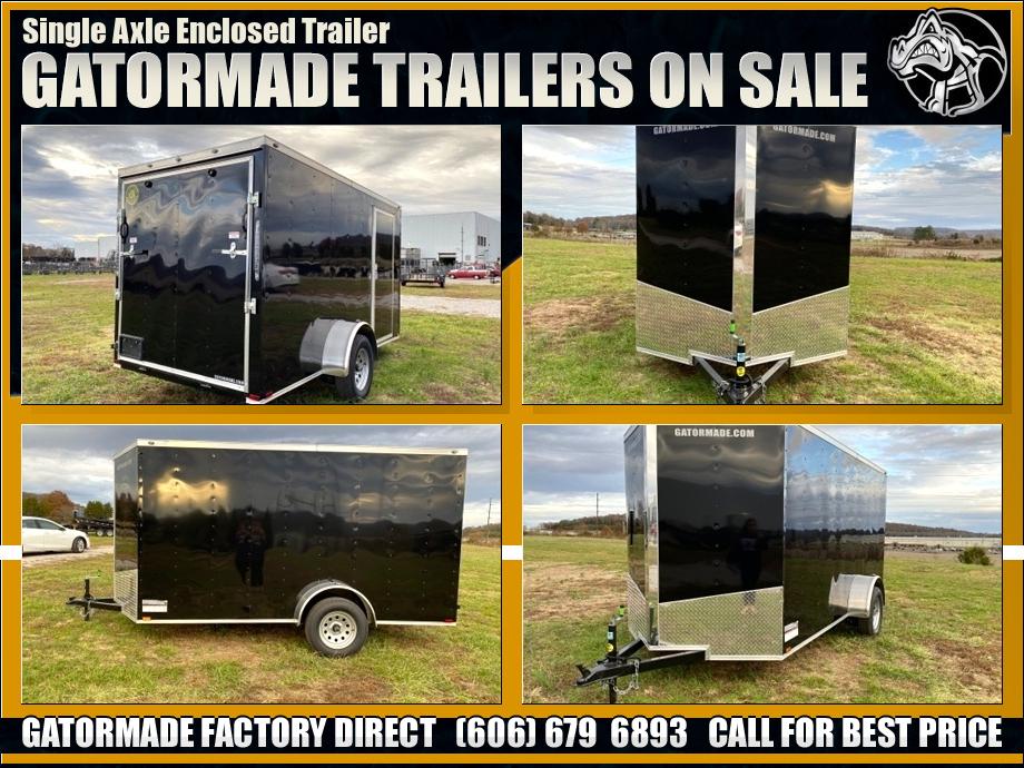 Enclosed Trailer Single Axle
