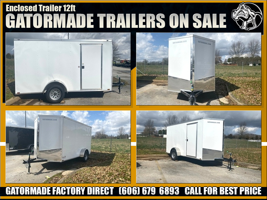 Image Enclosed Trailer Single Axle