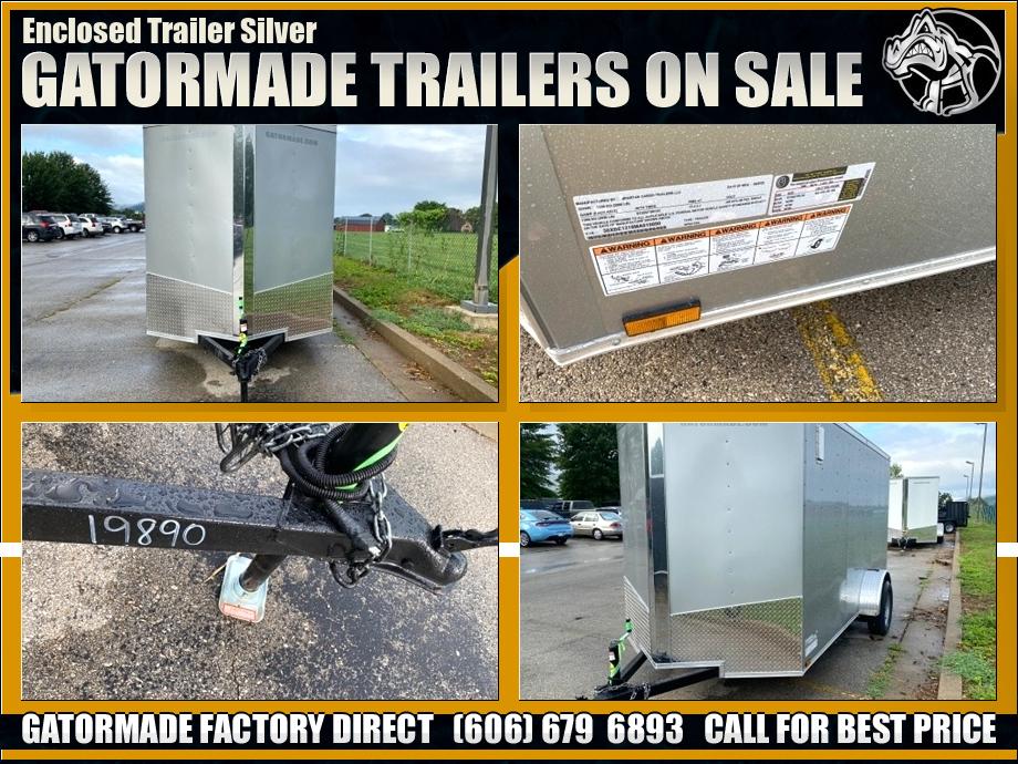 Image Enclosed Trailer Single Axle