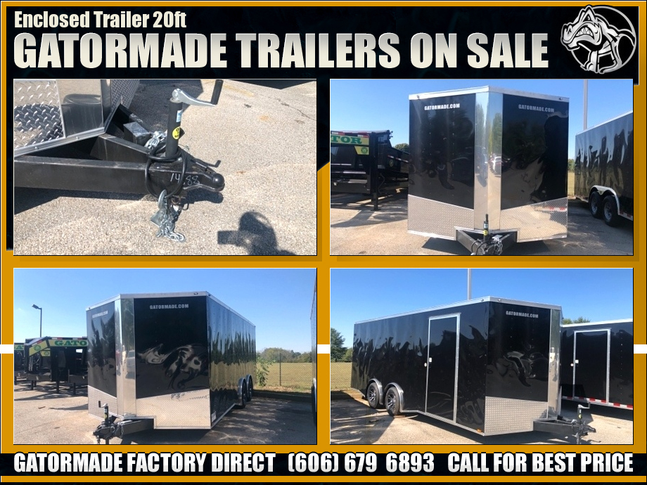 Enclosed Trailer Tandem Axle